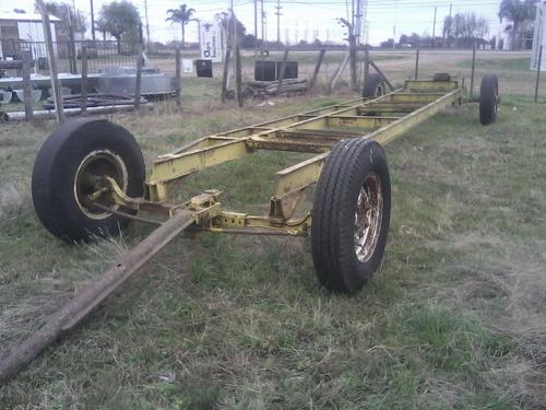 carro para sembradora o porta rollo