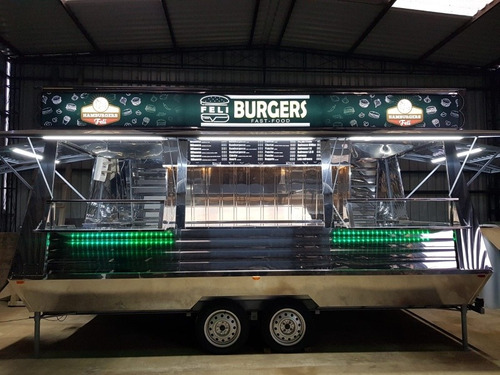 carro para venta de chorizos hamburguesas panchos food truck