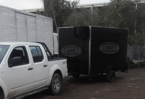 carro para venta de comida rapida / food truck