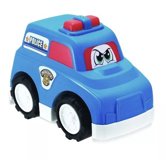 Carro Patrulla Policia 25 Cm Keenway Color Azul Juguete Pp