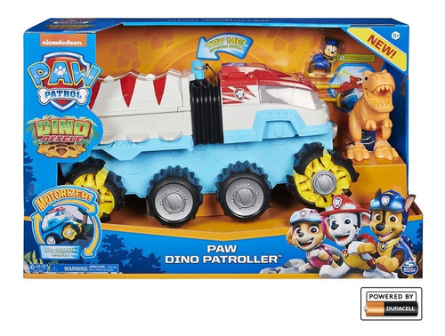 carro paw patrol dino rescue patroller rescate chase t rex