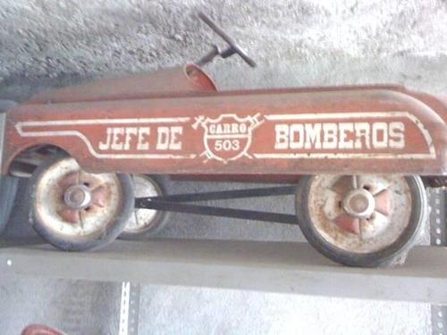 carro pedales apache calcas jefe bomberos 503