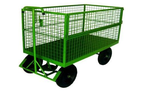 carro plataforma 1500 x 800 telado com freio. cod 2113 - cap