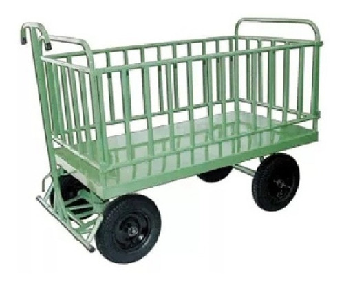 carro plataforma 1500 x 800 x 800 mm - cod. 0010 - 800 kg