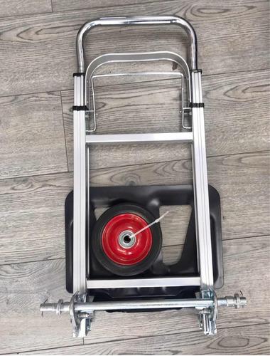 carro plegable carga aluminio tipo yegua 100 kilos