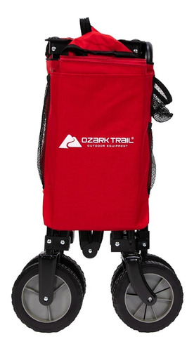 carro plegable carga ozark trail practico campismo