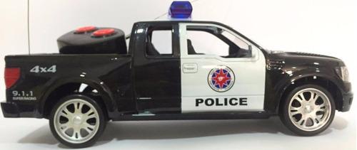 carro policia bateria recarregavel com luz e sirene promoção