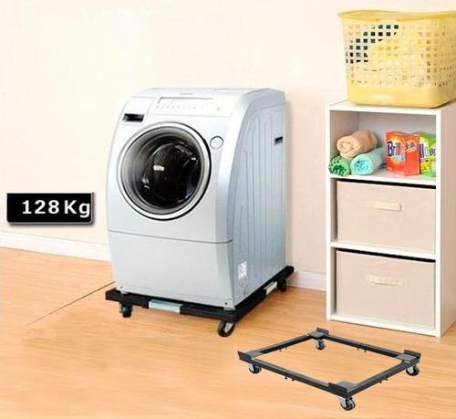carro porta lavarropa con ruedas