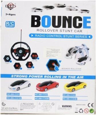 carro radio control, con pilas recargable, juguetes ypt