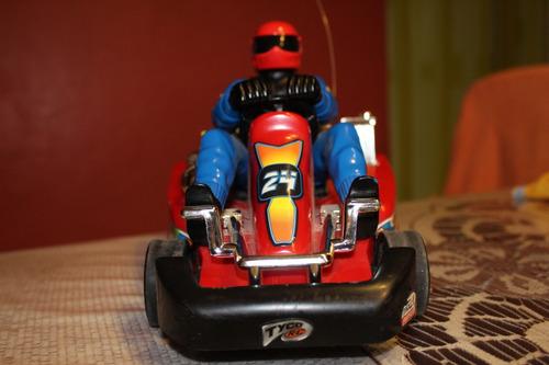 carro radio control tyco, go kart