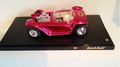 carro raro coleçao beatnik bandit rosa mattel 1:18 original