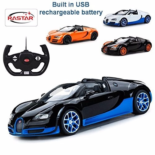 carro rc 1 14 scale bugatti veyron 16 4 grand sport. Black Bedroom Furniture Sets. Home Design Ideas