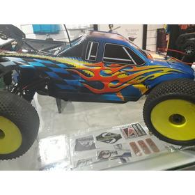 Carro Rc 4x4 A Gasolina Con Todos Los Juguetes