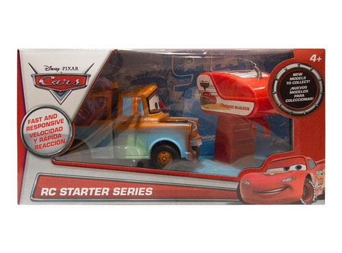carro rc cars starter series tow mate mater