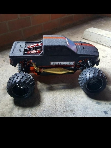 carro rc gasolina monster truck 1/5