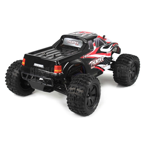 carro rc monster big 1:10 zd racing 10427 rtr,4wd brushless