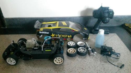carro rc nitro pro hsp con accesor