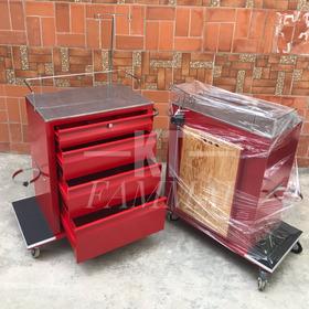 Carro Rojo Para Emergencias Medicas Tabla Y Portasueros