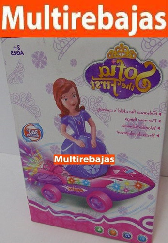carro rotación 360 sofia the first