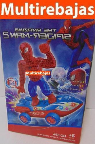 carro rotacion 360 the amazing spider-man 2