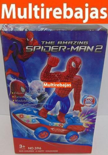 carro rotación 360 the amazing spider-man 2