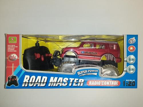 carro rustico control remoto road master escala 1:20