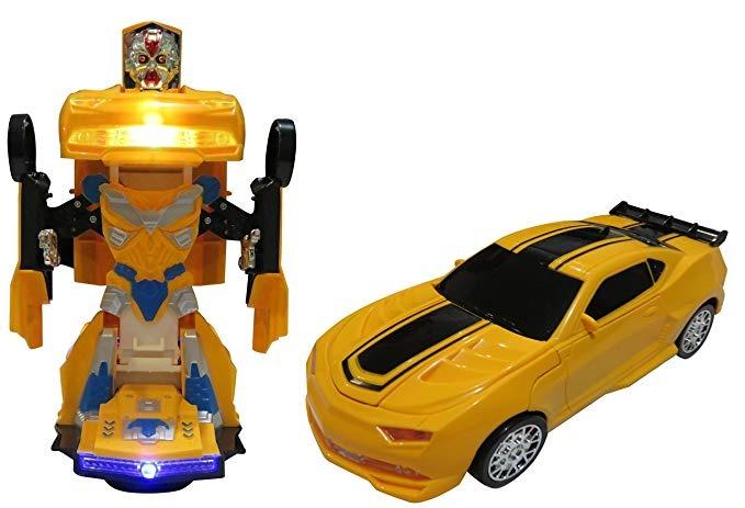 Bump Transforma Car Go En Ac Niños Y Carro Se Robot Juguetes TKF1Jcul3