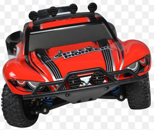 carro short course control 2.4 ghz. motor eléctrico. rc 4wd