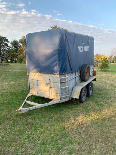 carro trailer para 2 caballos
