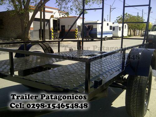 carro trailer para cuatriciclos 12 cuotas con tarjeta