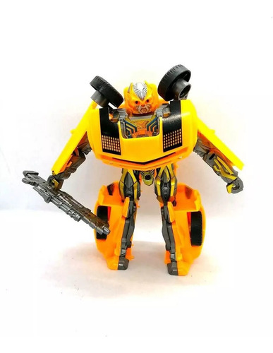 carro transformers bumblebee de coleccion
