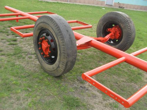 carro transportador de fardos