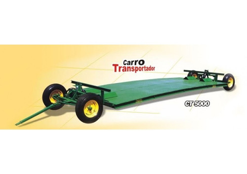 carro transportador de rollos y/o sembradoras agroar ct 5000