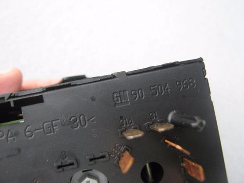 carro vectra, acessórios, acab. interruptor do farol - gm383