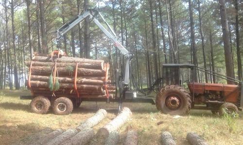 carro y grúas forestales