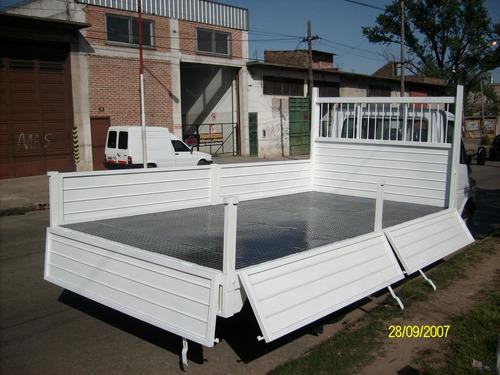 carrocería baranda volcable 4.20 metros nueva