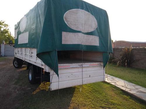 carrocería baranda volcable usada 6 metros