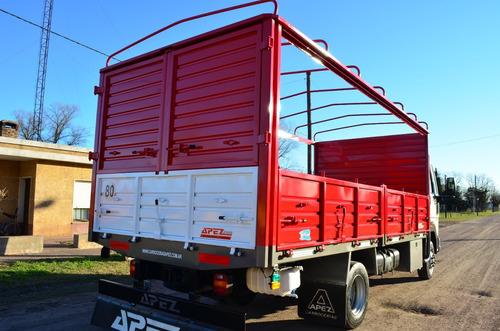 carrocería  barandas volcables caja semiremolque acoplados