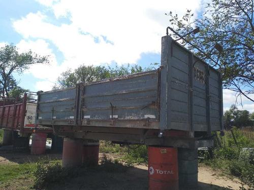 carrocería bivuelco 4.55mts