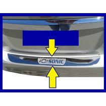 Bocel Protector De Baul-parachoque Chevrolet Sonic