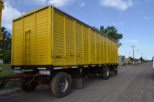 carrocería caja camión playa baranda volcable sider volcador
