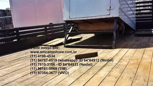 carroceria de madeira 4,50m assoalho novo