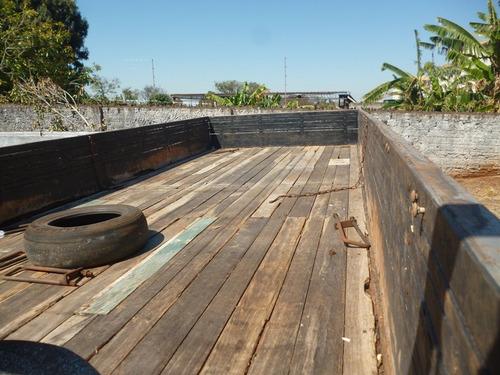 carroceria de madeira - 6,20 mts