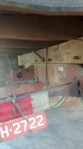 carroceria de madeira 8,50m troca