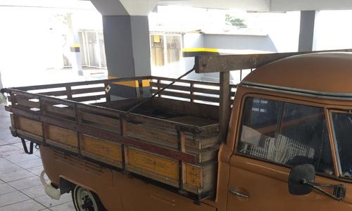 carroceria de madeira para kombi pick up