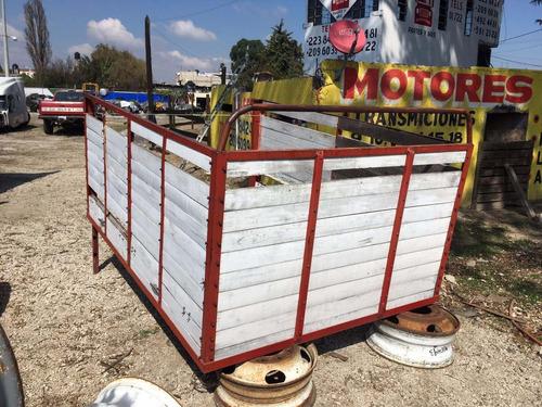 carroceria de madera para batea ford chevrolet