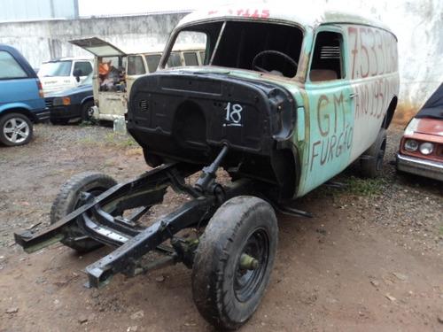 carroceria e chassis chevrolet 3800 1951