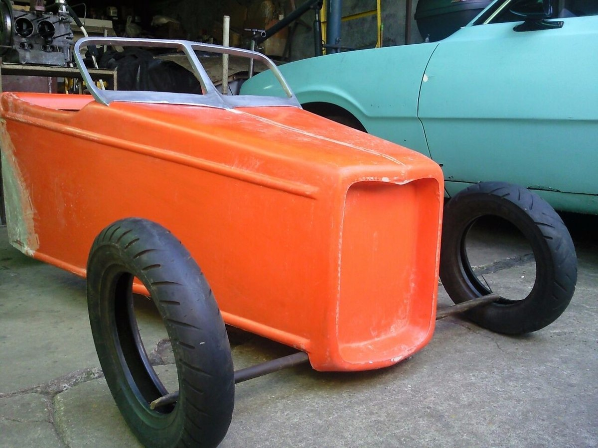 Carroceria E Chassis Mini Pick Up Hot Rod 1932 R 5 000 00 Em
