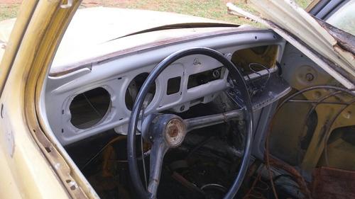 carroceria em bom estado p/ reformar de fusca 1974 1500cc