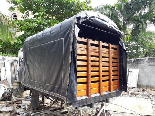 carrocería estacas para nhr-nkr-jac-turbo